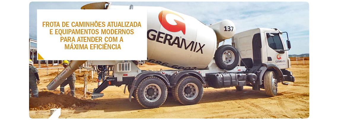 Frota de caminhões atualizada e equipamentos modernos para lhe atender com a máxima eficiência